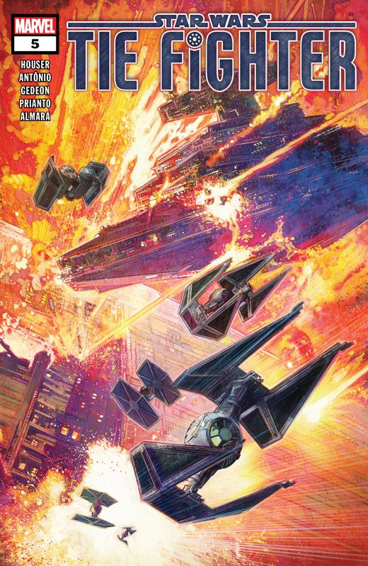Star Wars - Tie Fighter #1-5 (2019) Complete
