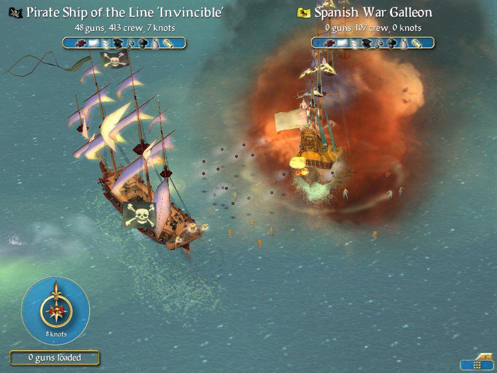 Sid Meier's Pirates! Captura 3