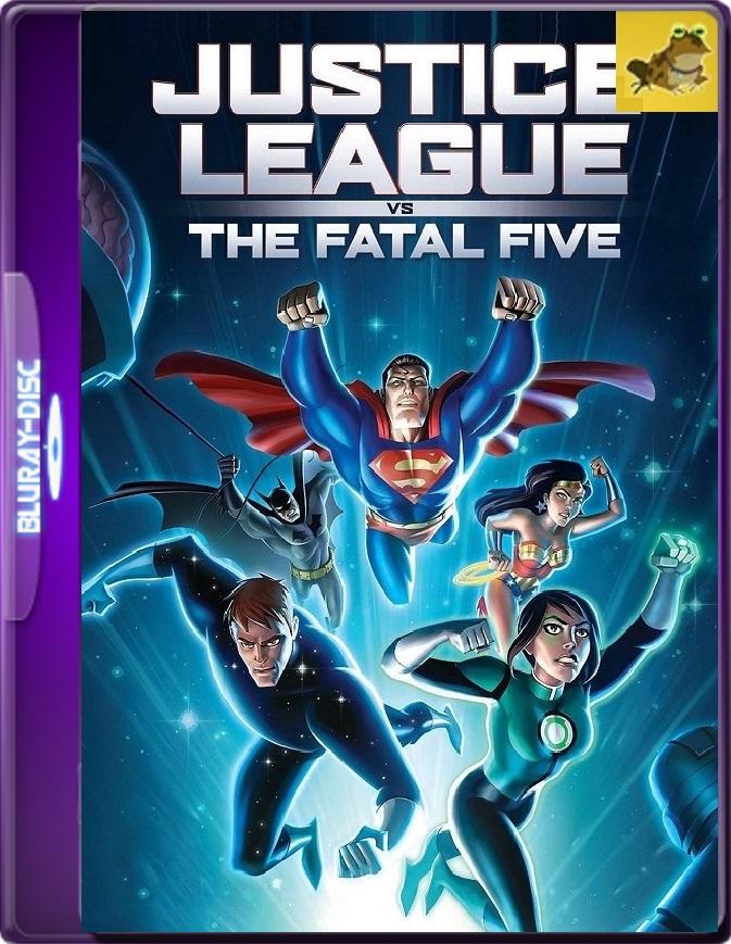 La Liga De La Justicia VS Los Cinco Fatales (2019) Brrip 1080p (60 FPS) Latino / Inglés