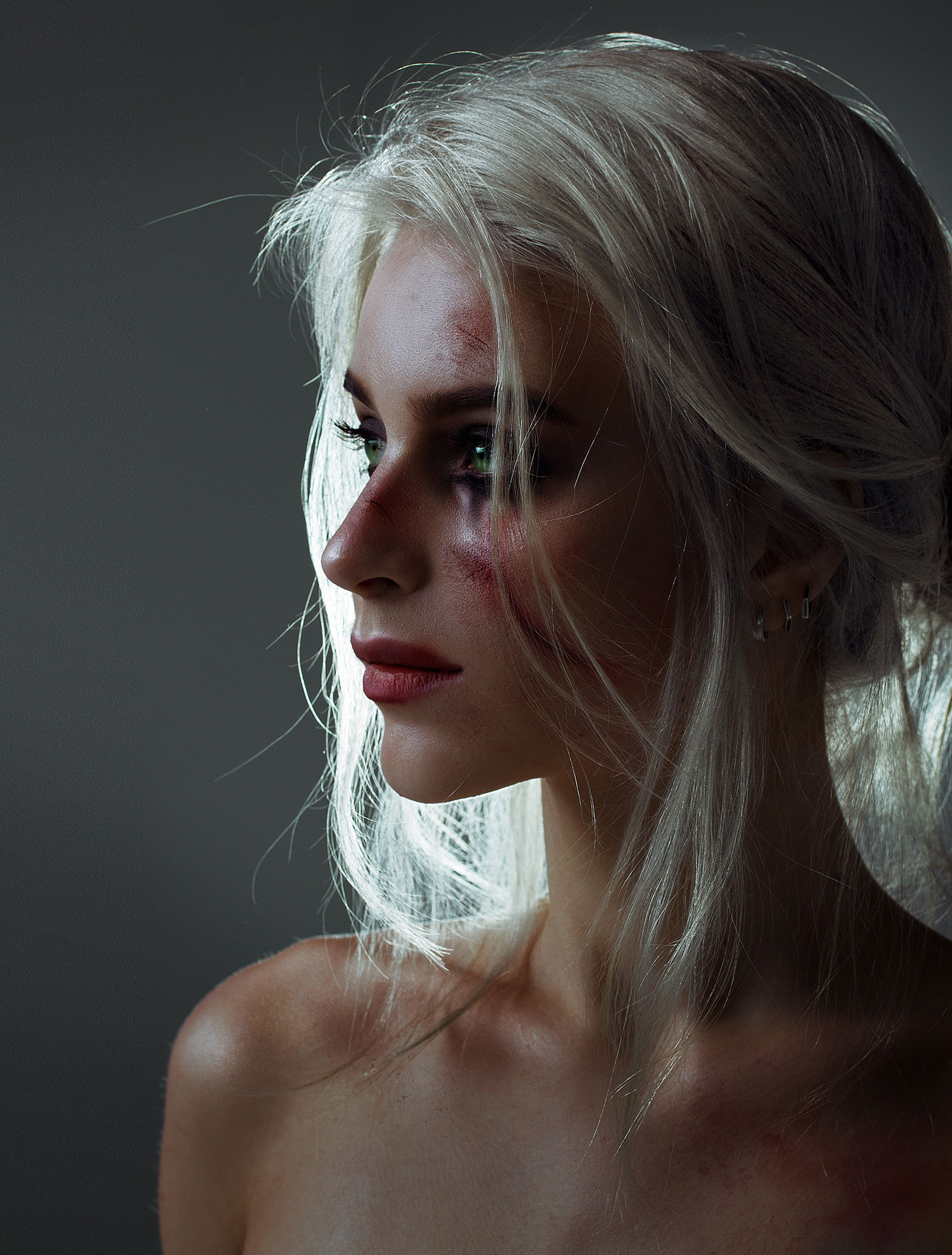 Cosplay / Katie Kosova / Катя Косова в роли Cirilla из игры The Witcher 3 / фотограф Tim Rise