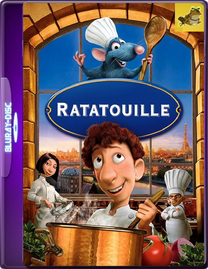 Ratatouille (2007) Brrip 1080p (60 FPS) Latino