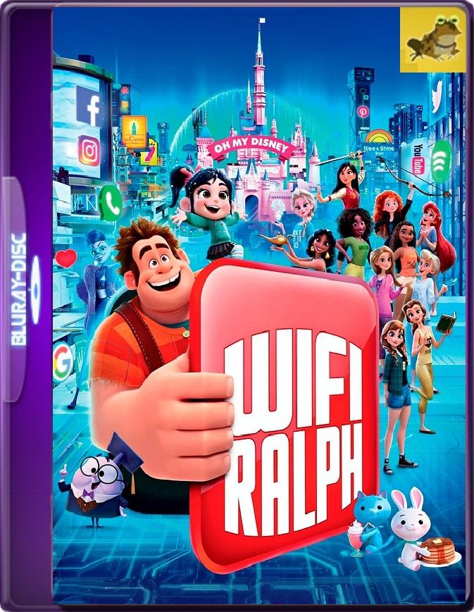 Wifi Ralph (2018) Brrip 1080p (60 FPS) Latino