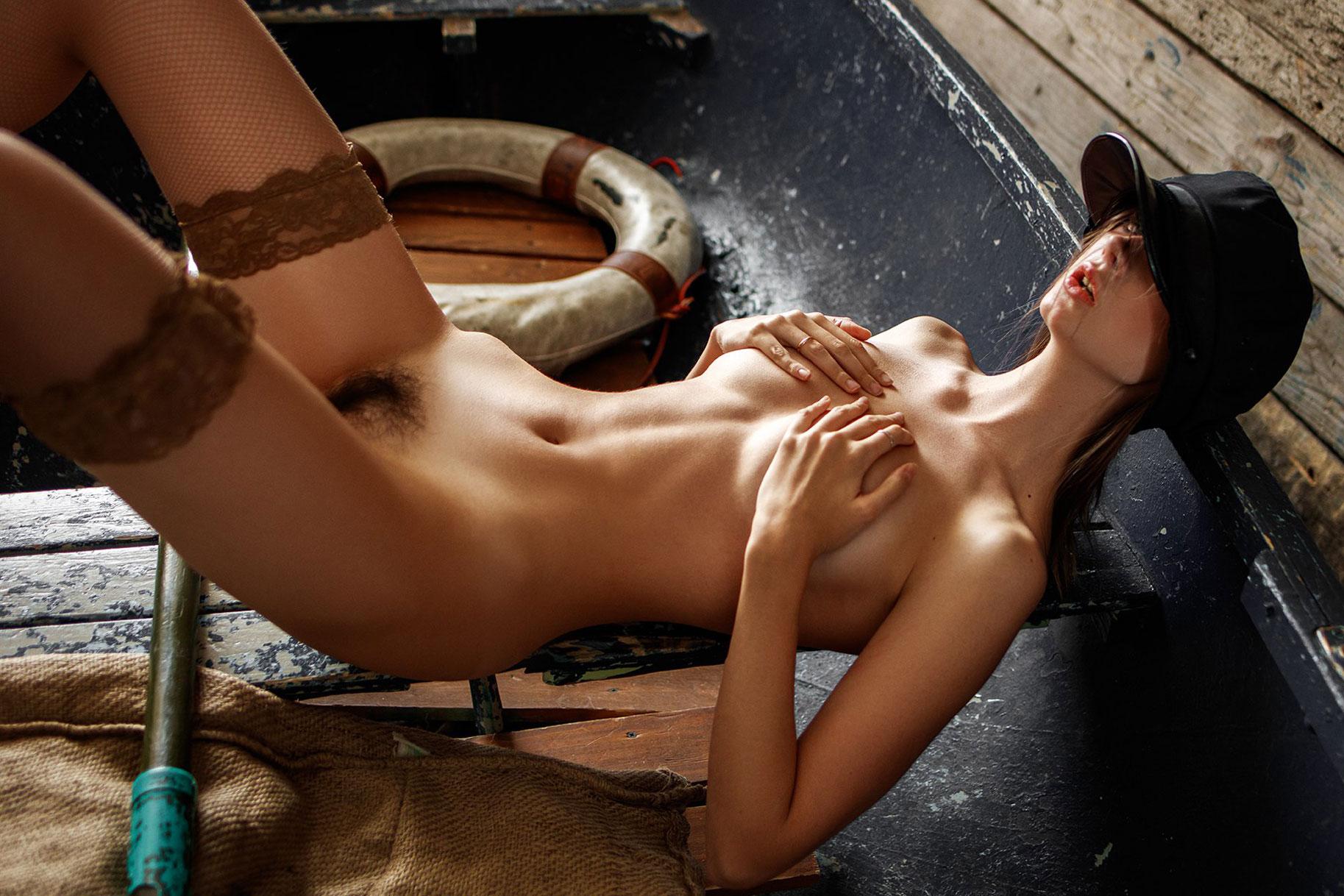 Disha Shemetova nude by Alexey Trifonov