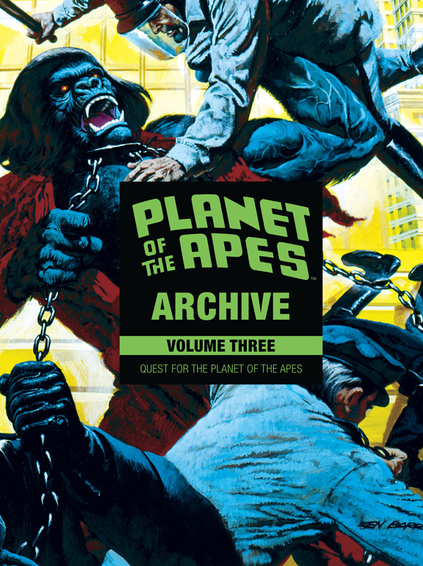 Planet of the Apes Archive v03 - Quest for the Planet of the Apes (2018)