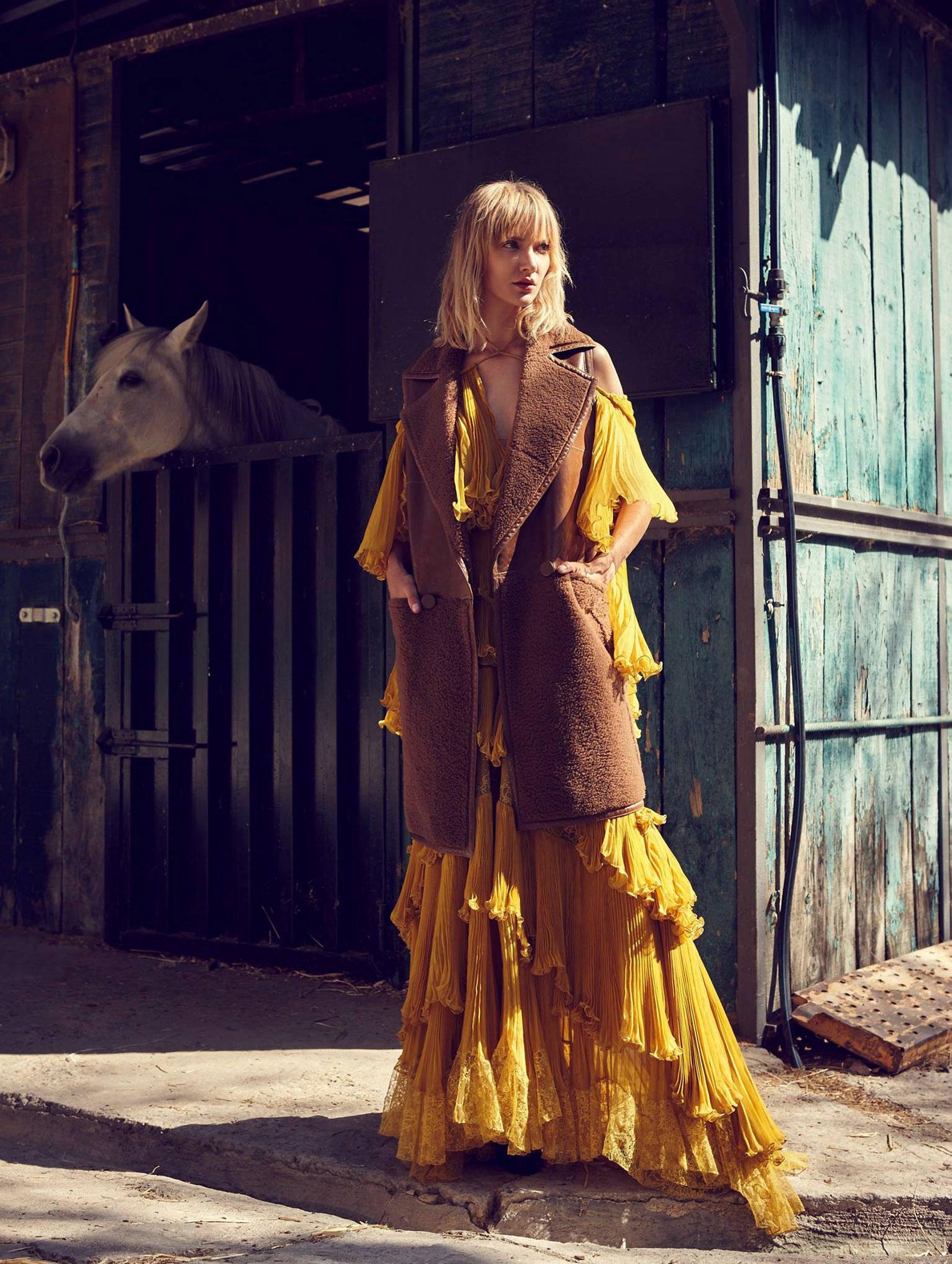 Девушка и конь / фото 05