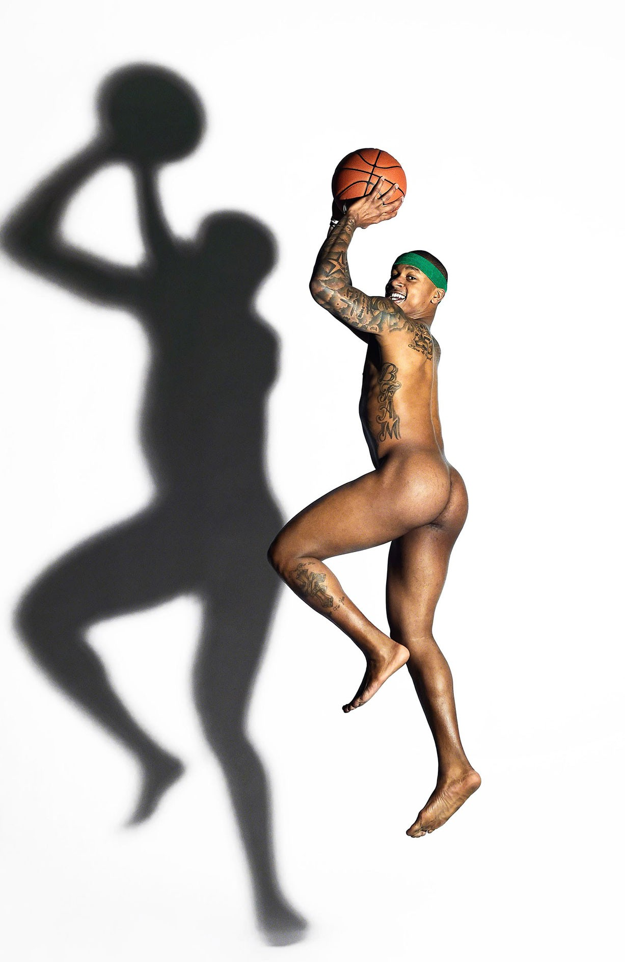 Isaiah Thomas - ESPN The Body Issue 2017 / photo by Walter Iooss