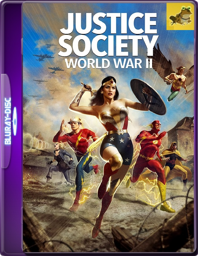 Justice Society: World War II (2021) WEB-DL 1080p (60 FPS) Latino / Inglés