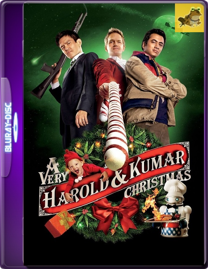 La Navidad De Harold Y Kumar (2011) Brrip 1080p (60 FPS) Latino / Inglés