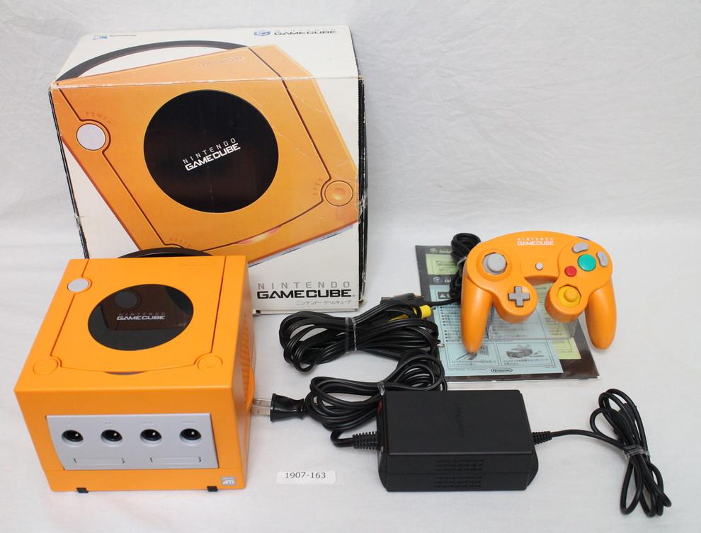 Fastest EMS ship] Gamecube Console Orange box full set work