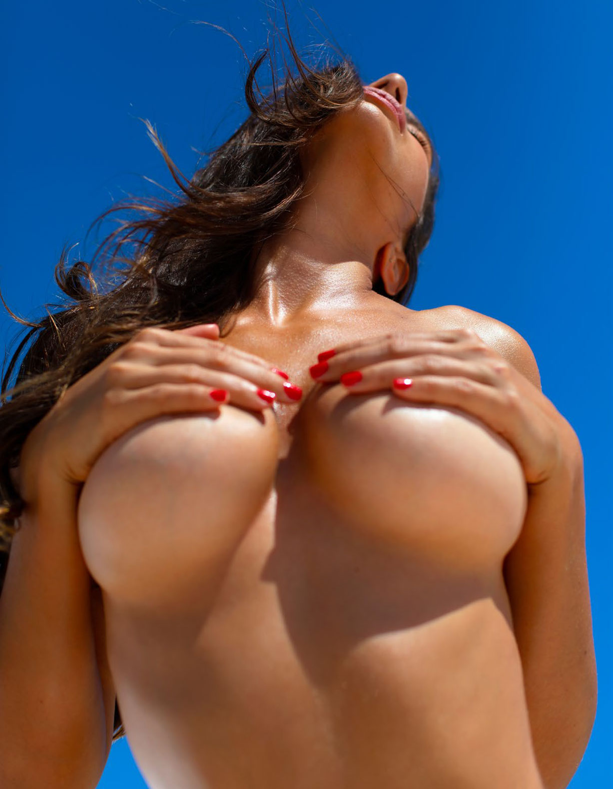 Присцилла Хаггинс в спецвыпуске журнала Playboy -Девушки летом- / фото 09