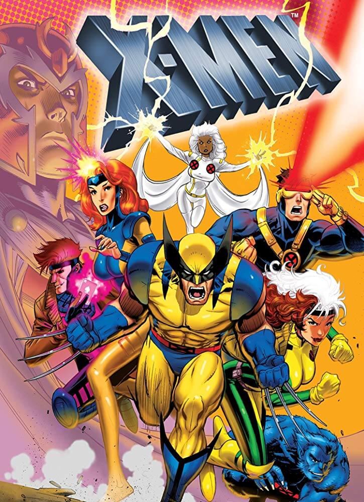 X-Men Serie Animada 90s temporada 1 a 5