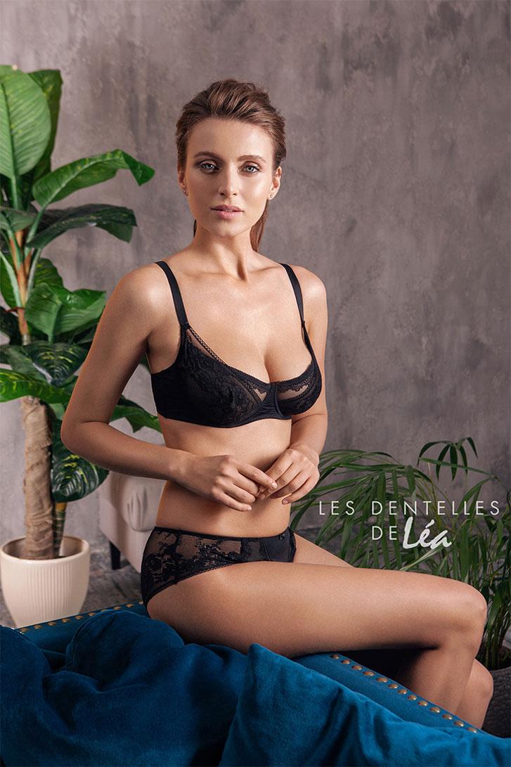 Татьяна Носенко и Ирина Купчак в рекламной кампании нижнего белья Les Dentelles de Lea, осень-зима 2020/2021 / фото 22
