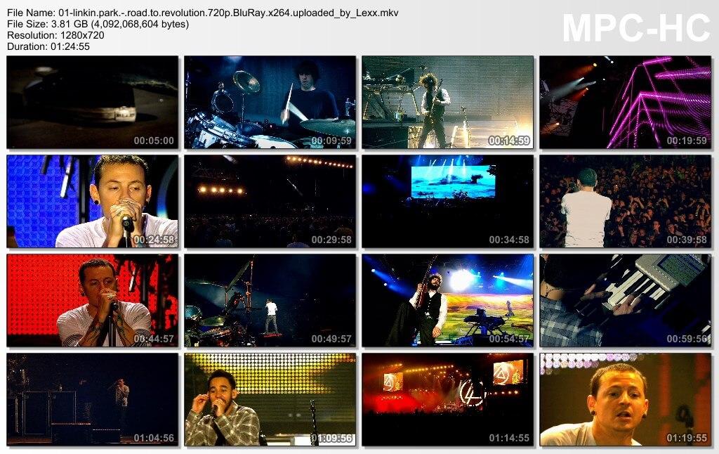 Linkin Park - Road To Revolution Live At Milton Keynes bdrip