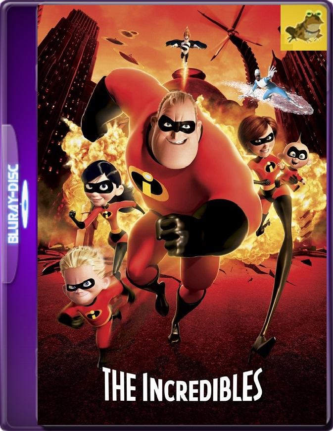 Los Increíbles (2004) Brrip 1080p (60 FPS) Latino