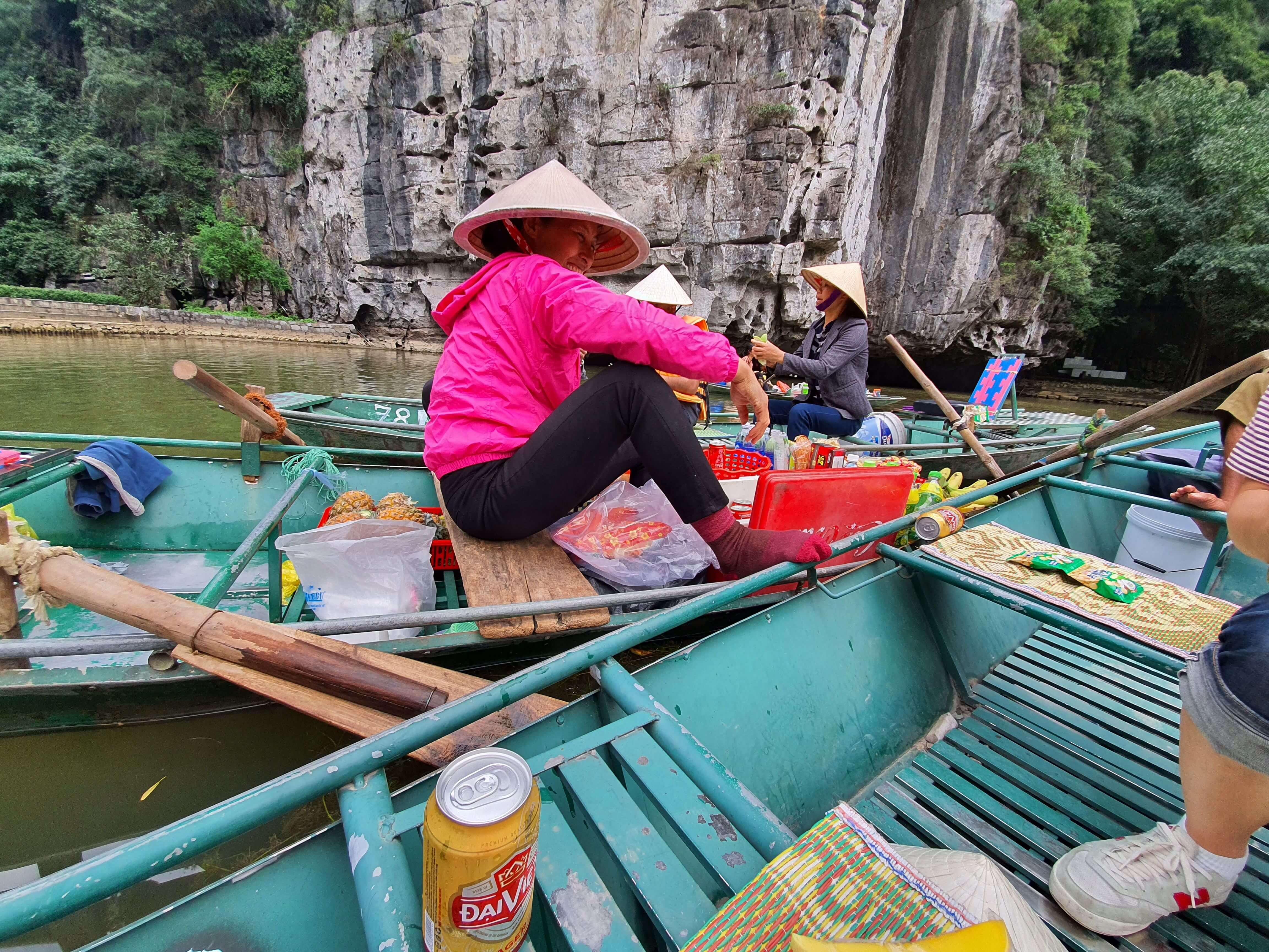Ngo Dong River Floating Market