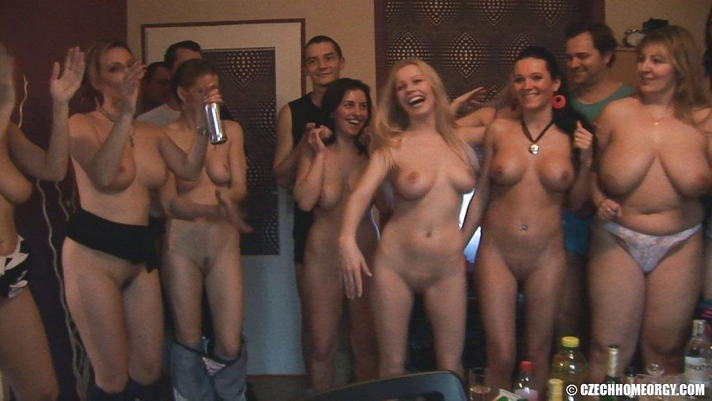 Czech home orgy 2-3307