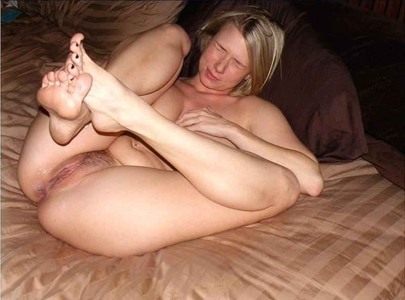 Short blonde with big tits-4166