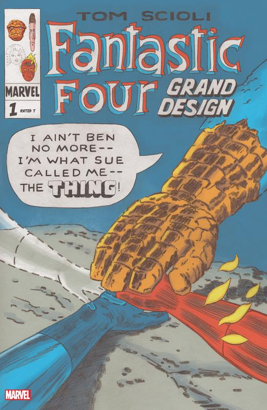 Fantastic Four - Grand Design #1-2 (2019-2020) Complete