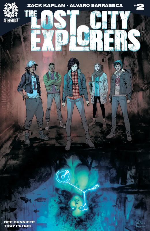 Lost City Explorers #1-5 (2018)
