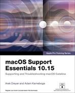 macOS Support Essentials 10 15   Apple Pro Training Series Supporting and Troubles...