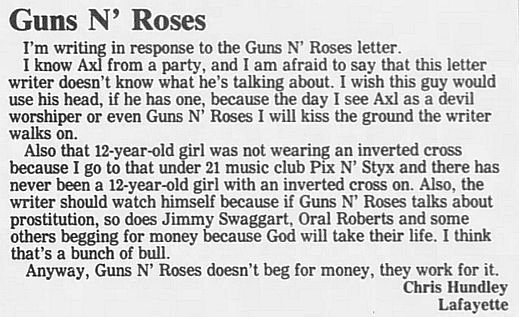 1989.02.21/04.10 - Journal and Courier (Lafayette, IN.) - Readers' letters/Debate on GN'R I945Zw7s_o