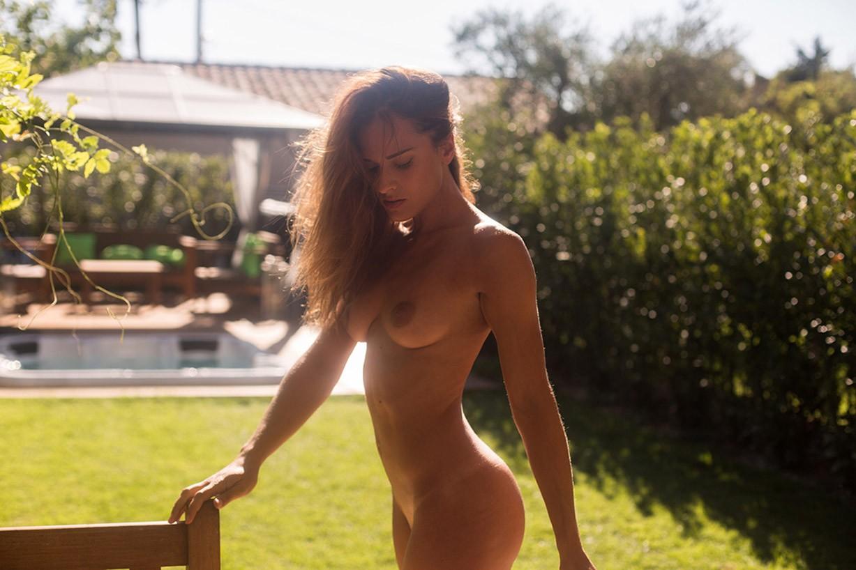 Рай на заднем дворе с Элей Ка - Backyard Paradise / Eliya Ca nude by Celine Andrea - Yume Magazine
