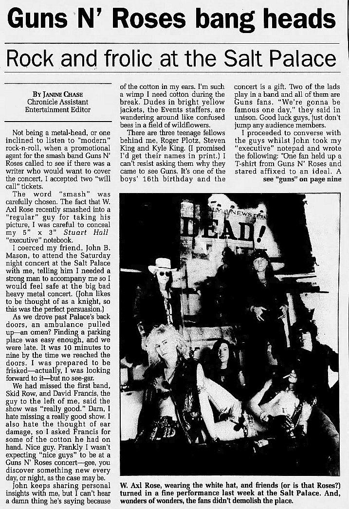 1991.07.13 - Salt Palace, Salt Lake City, USA DSrRvF5V_o