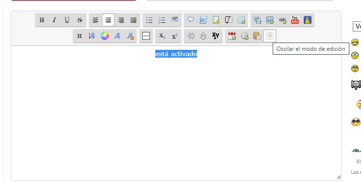 Desactivar a manera autómatica el modo WYSIWYG por defecto al empezar escribir en el editor de texto 3Gnncq2a_o