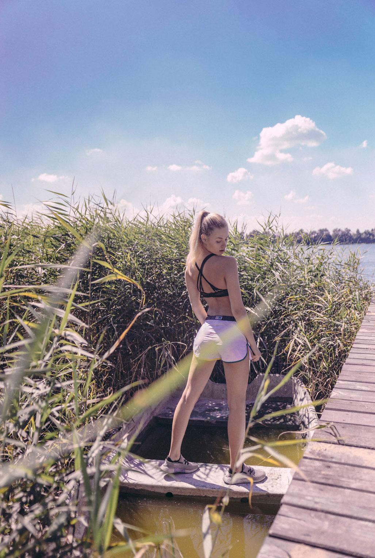 баскетбол, бадминтон и водные процедуры - польские каникулы Юлии Козловской / Julia Kozlowska by Miron Chomacki