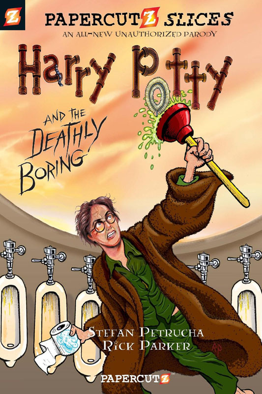 Papercutz Slices 01 - Harry Potty and the Deathly Boring (2010)