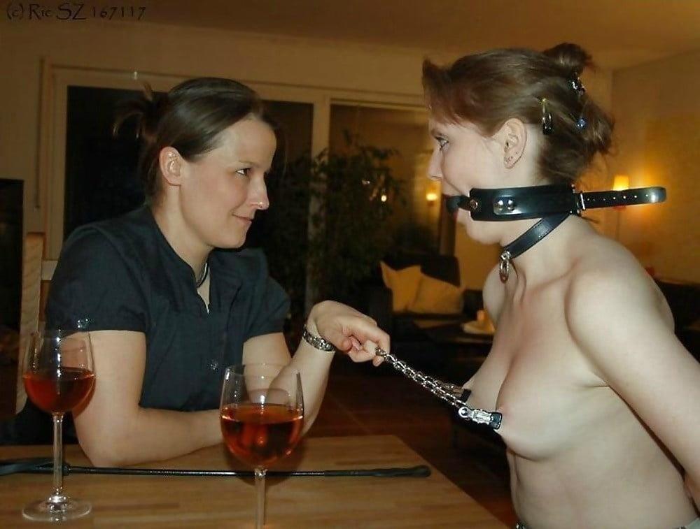 Woman on woman cunnilingus-8534