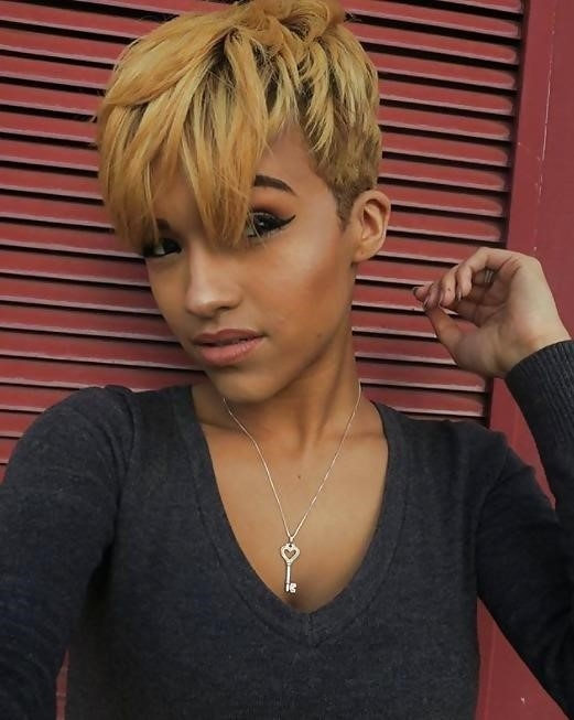 Different short hairstyles for black ladies-4569