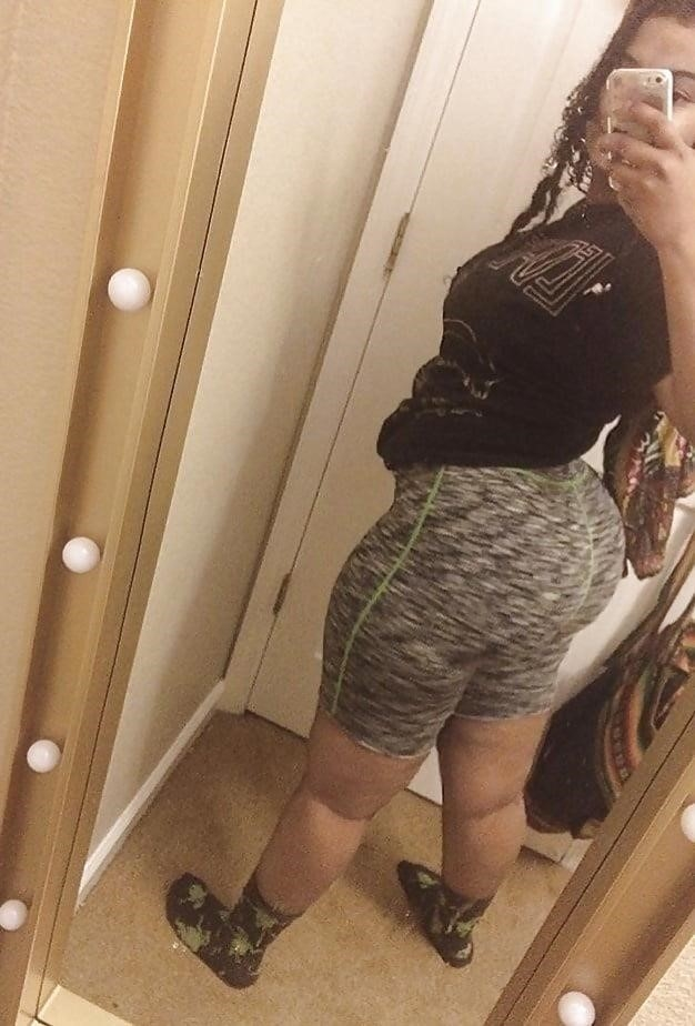 Thick black booty solo-7877