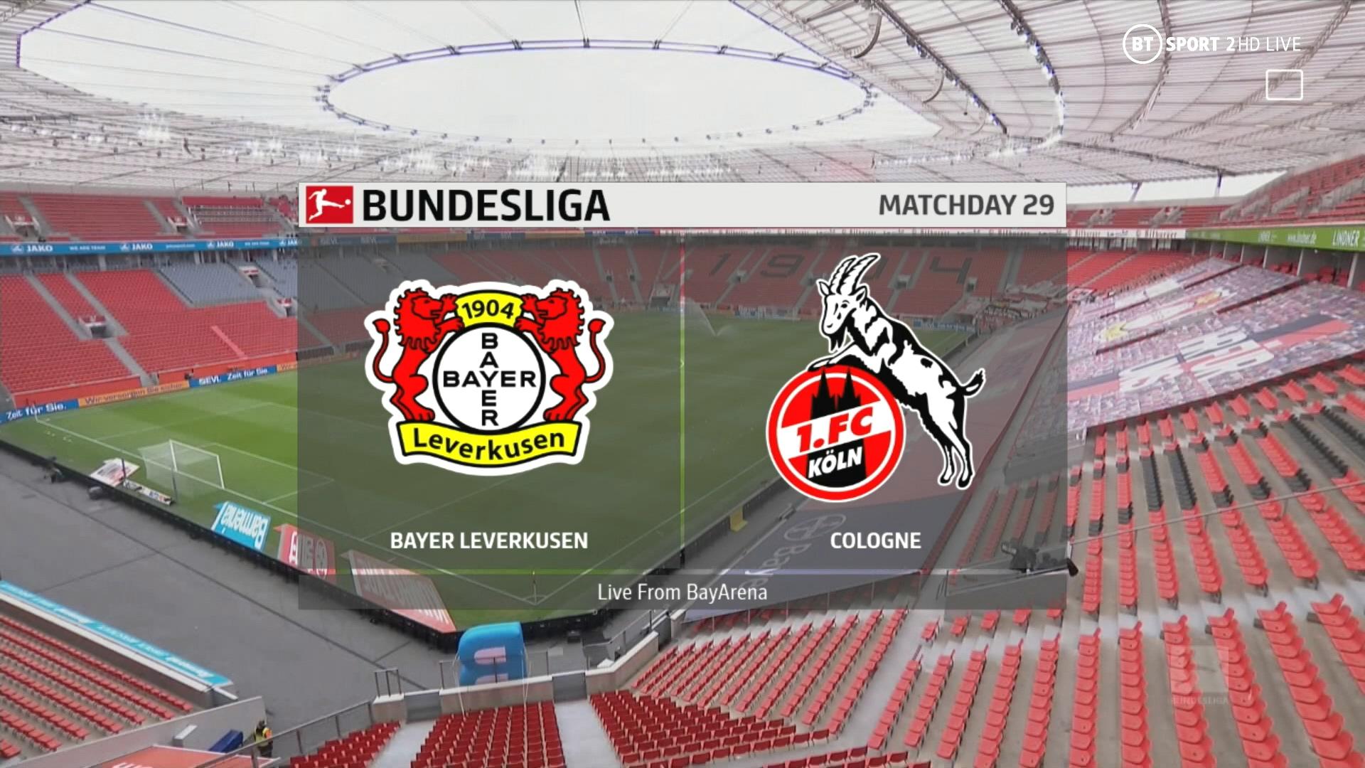 Bundesliga 20/21 J29 - Bayer Leverkusen vs Köln - 17/04/2021