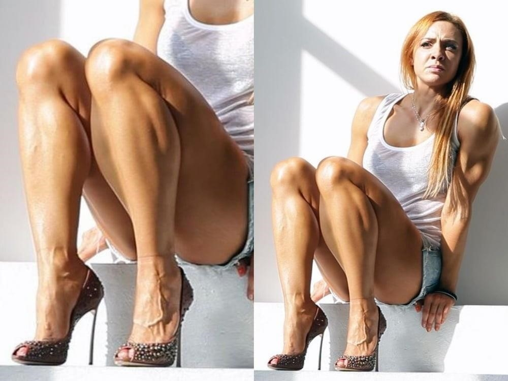 Bodybuilder female clit-3683