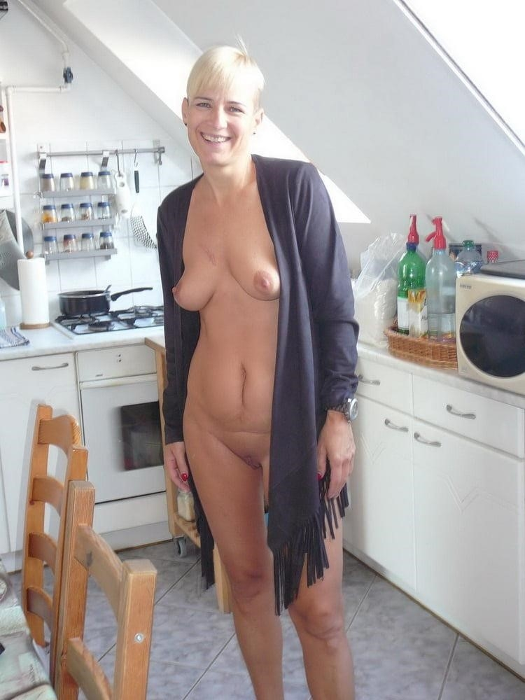 Wife naked in public-5020