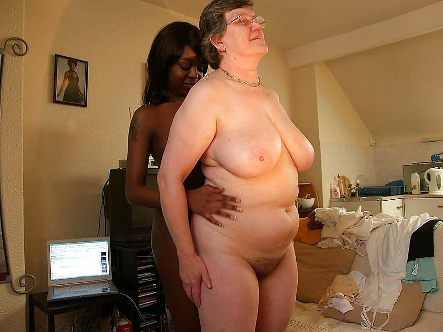Old white guy young black girl-1300