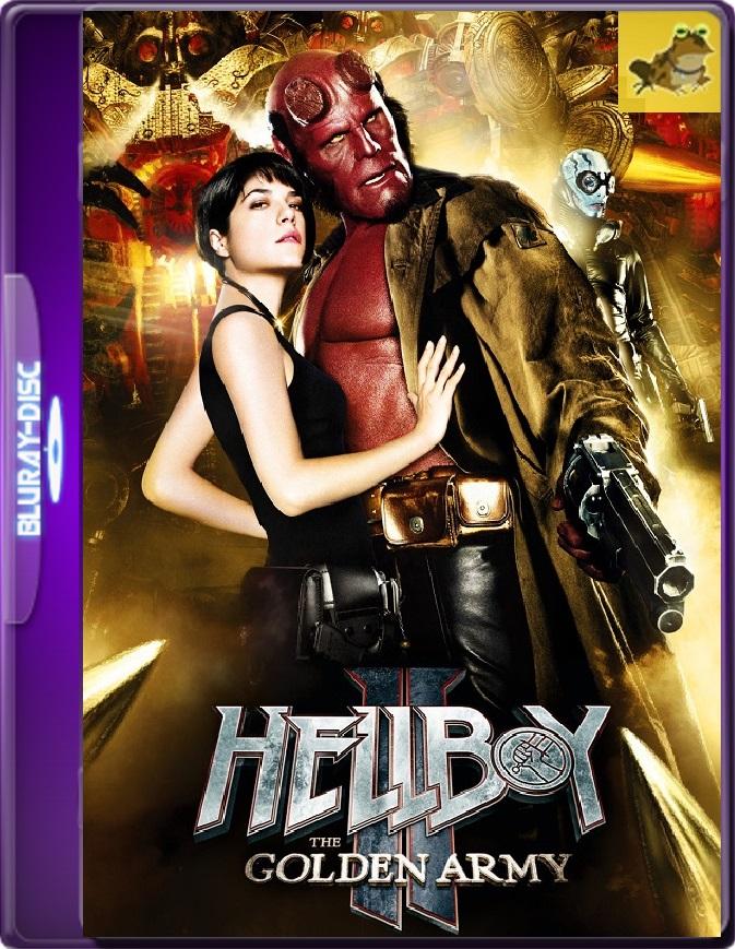 Hellboy 2: El Ejército Dorado (2008) Brrip 1080p (60 FPS) Latino / Inglés