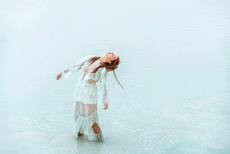 Anna Ewers by Ryan McGinley - Stern Mode spring / summer 2016