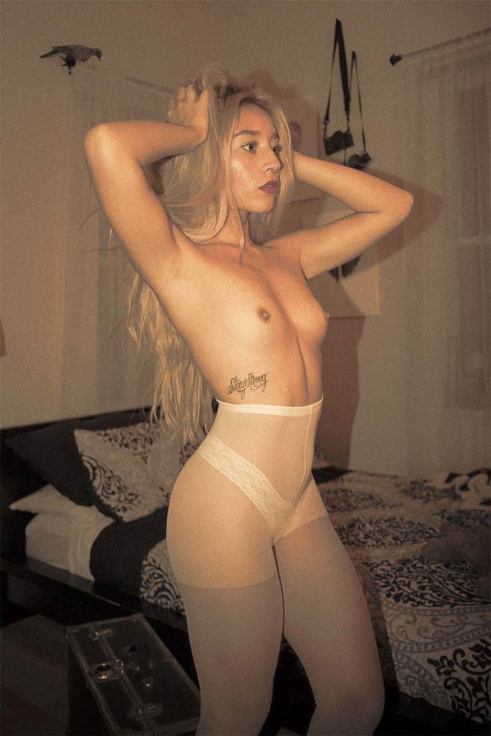 sexy Savannah Archuleta naked by Isaiah Vigil