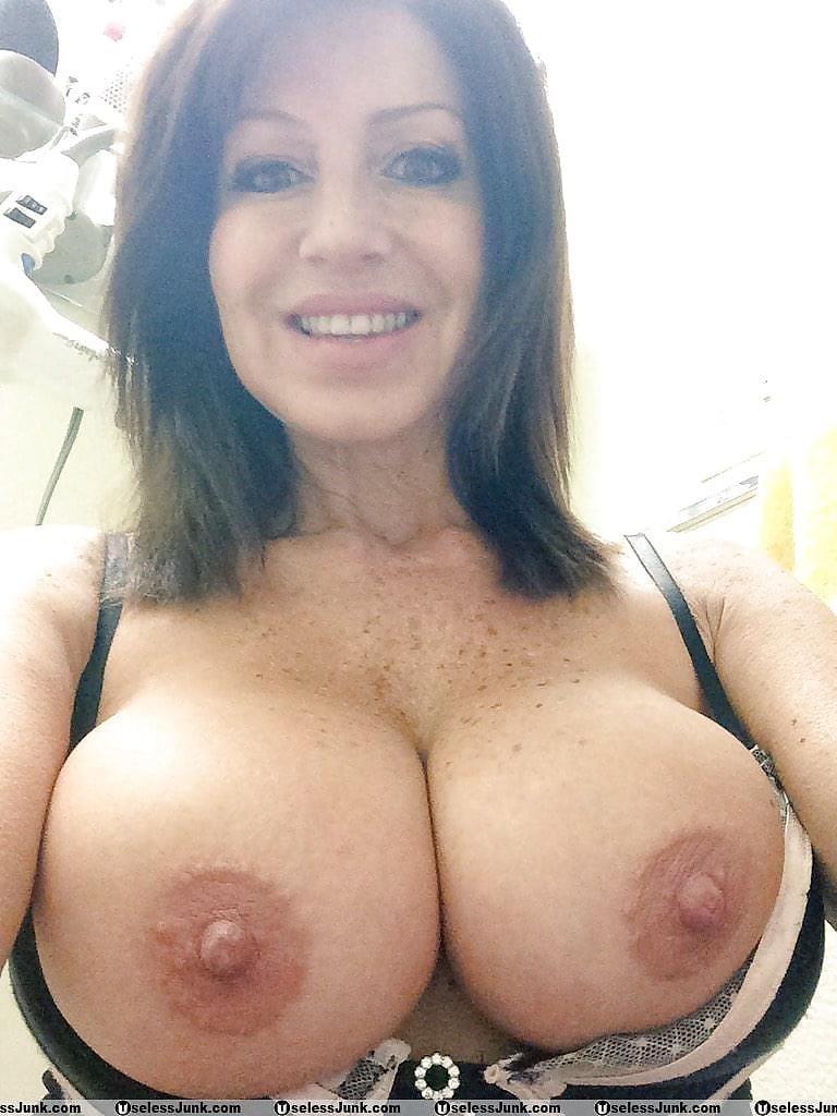 Big tits nude selfie-3259