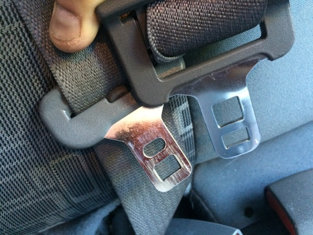 Yesterday The 07 Cruiser Already Had Left Rear Seatbelt Stripped So I Thought Maybe Can Replace Buckle With A Gen1
