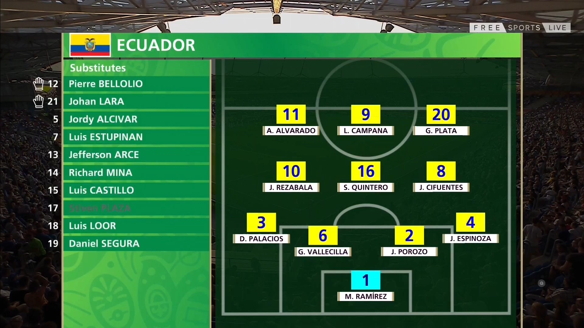 FUTBOL: FIFA U20 World Cup Semi-Final - Ecuador U20 vs