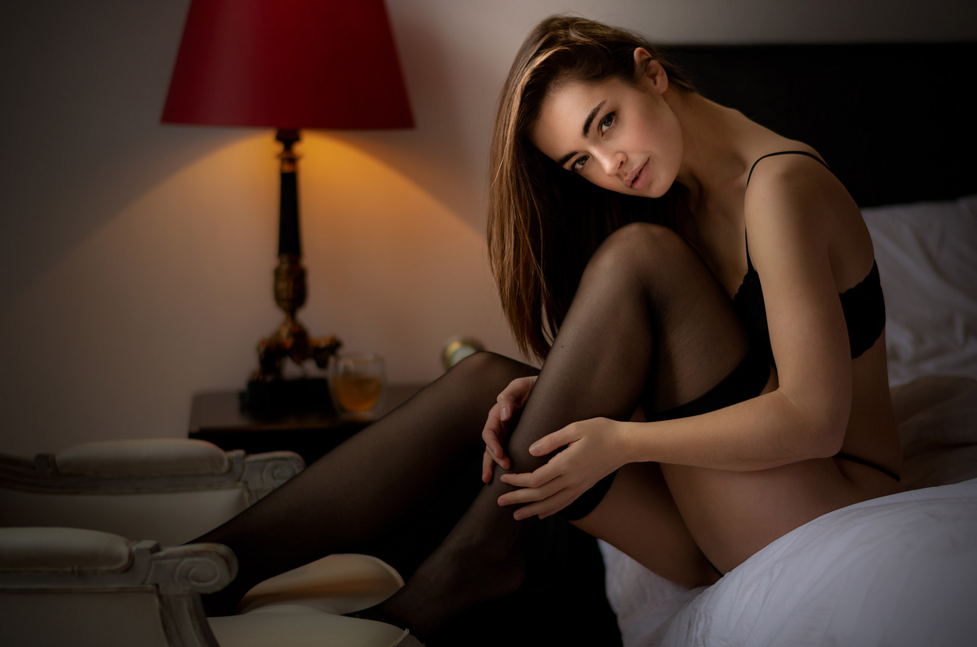 Lidia Savoderova by Chris Bos