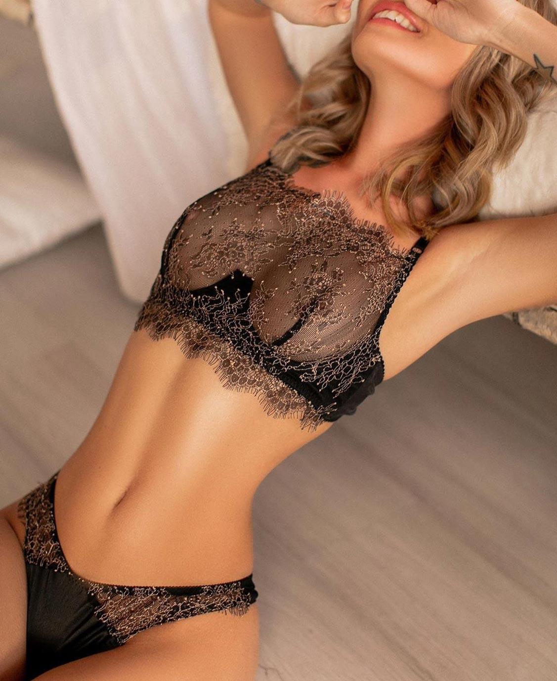 Анастасия Щеглова в нижнем белье торговой марки MissX / фото 12
