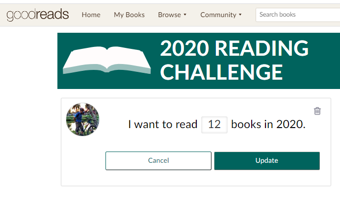 Book to read - Year 2020 reading challenge