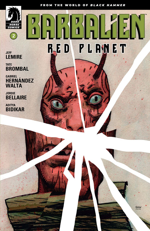 Barbalien - Red Planet #1-5 (2020-2021) Complete