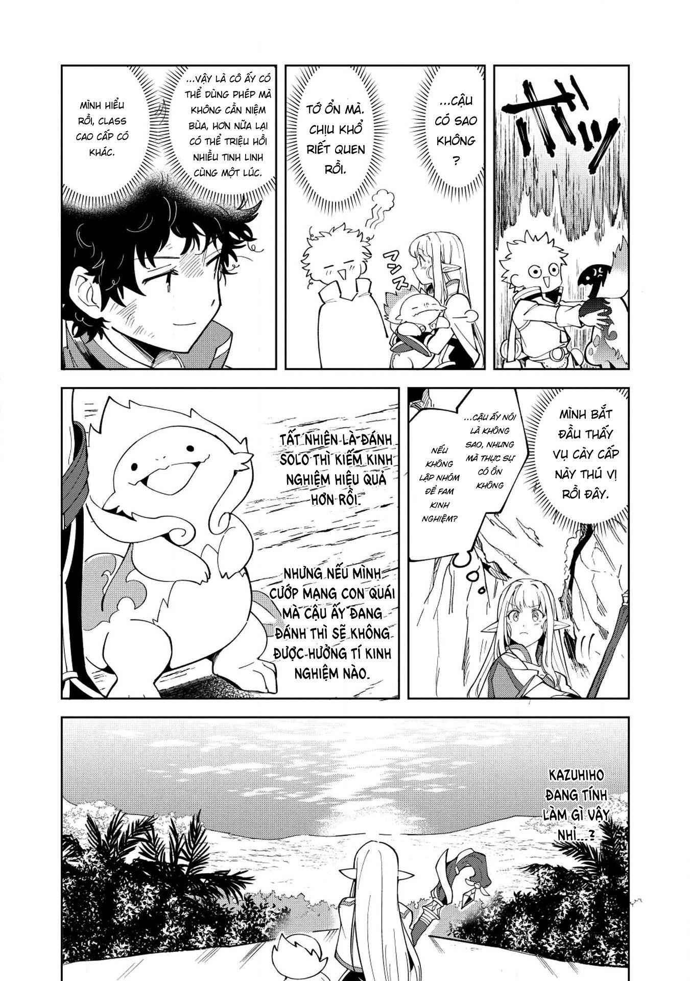 Xuyên Không Mang Elf Về Nhà Chapter 8