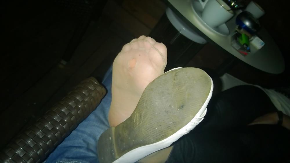 Lesbian foot fetish nylon-2707