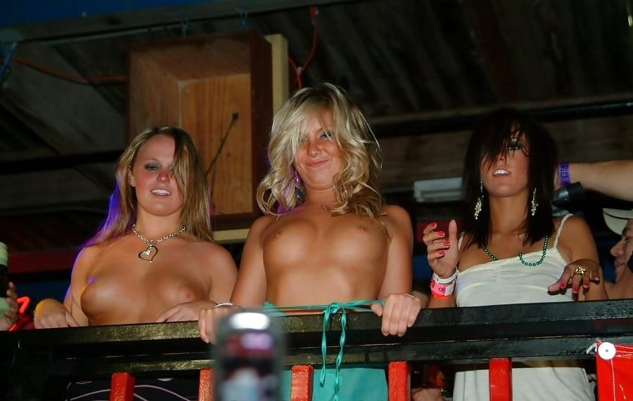 Nude spring break beach-2069